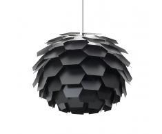 Lampada da soffitto moderna nera - SEGRE maxi