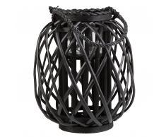 Lanterna nera 30 cm MAURITIUS