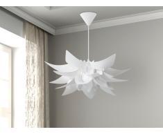 Lampada da soffitto bianca - Lampadario moderno bianco - ALVA