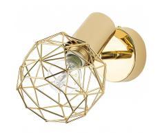 Lampada da parete color oro CHENAB