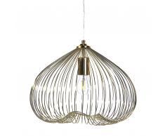 Lampada da soffitto, in metallo oro - TORDINO