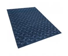 Tappeto blu scuro 160 x 230 cm a pelo corto SAVRAN