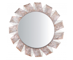 Specchio tondo diametro 60cm bianco MANGALORE