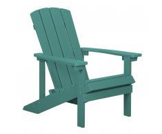 Sedia da giardino verde ADIRONDACK