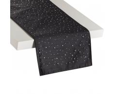 Runner da tavolo 35x180 nero TORATE