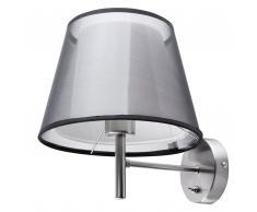 Lampada da muro in colore grigio/nero COLUMBIA
