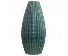 Vaso per fiori blu verde 41 cm DELFIA