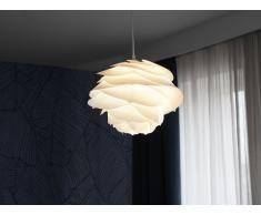 Lampada da soffitto moderna bianca - Lampadario design bianco - NILE
