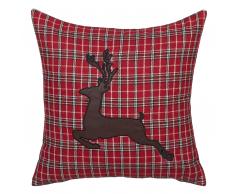 Fodera per cuscino in color rosso COMET