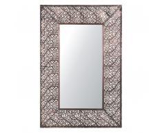 Specchio da muro 90x60 cm in color ottone BRIENNE