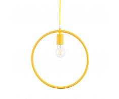 Lampada a sospensione in color giallo LOMAMI