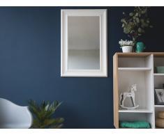 Specchio moderno da parete con cornice bianca - 61x91cm - LUNEL
