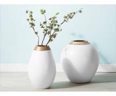 Vaso da fiori bianco CORIA