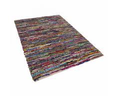 Tappeto multicolore in cotone - 140x200cm - ENEZ