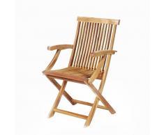 Sedia da giardino - In legno - Acacia - JAVA