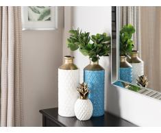 Vaso decorativo blu ARSIN