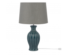 Lampada da tavolo verde scuro 59cm SAMINA
