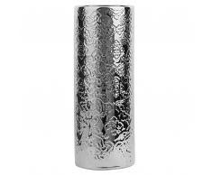 Vaso da fiori color argento ORFES