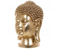 Statuetta decorativa dorata BUDDHA