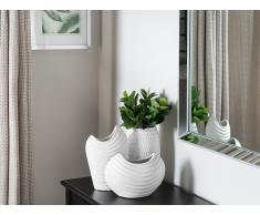 Vaso decorativo bianco DALDIS