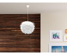 Lampada - Da soffitto - Plafoniera - Bianco - SILVIA mini