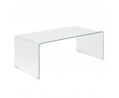 Tavolino da caffè in vetro trasparente KENDALL