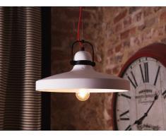 Lampada da soffitto bianca moderna - Lampadario di design in cemento - NOATAK
