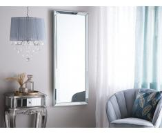 Specchio da parete in color argento 50 x 130 cm CHAURAY