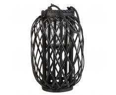 Lanterna nera 40 cm MAURITIUS