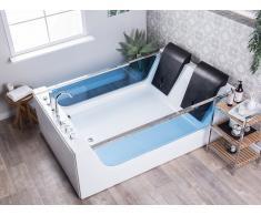 Vasca da bagno con idromassaggio e LED CURACAO
