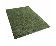 Tappeto shaggy rettangolare in tessuto verde - 300x400cm - OREN