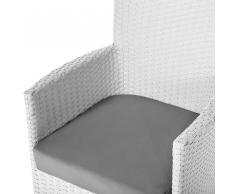 Set di federe grigio per cuscini di ITALY