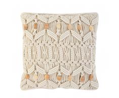 Cuscino decorativo beige 45x45cm NICAEA
