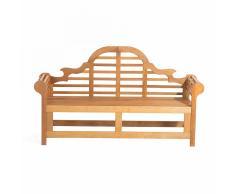 Panchina da giardino in legno di Balau 180cm JAVA Marlboro