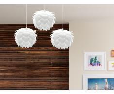 Lampada - Da soffitto - Plafoniera - Bianco - Set da 3 pezzi - SILVIA mini