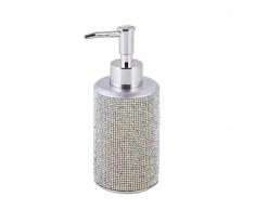 Dispenser sapone color argento TERAZA