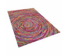 Tappeto in tessuto multicolore 160 x 230 cm MALATYA