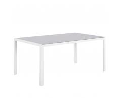 Tavolo da giardino in alluminio 160 x 90 cm CATANIA