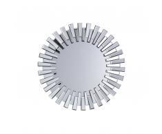 Specchio da parete in argento ø70 cm CHOLET
