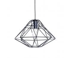 Lampada da soffitto moderna nera - Lampadario design nero - GUAM