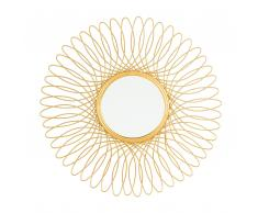 Specchio tondo color oro ø55 CAMBIA