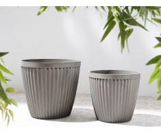 Taupe vaso di fiori ⌀44 cm POKA