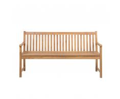 Panchina da giardino in legno di acacia 160 cm VIVARA