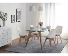 Set di 2 sedie da pranzo in colore bianco DAKOTA II