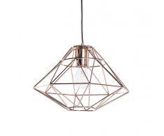 Lampada da soffitto moderna color rame - Lampadario design rame - GUAM