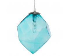 Lampada a sospensione in color blu NECAXA