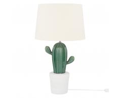 Lampada da tavolo color verde CACTUS