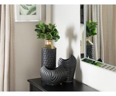 Vaso decorativo color nero ECETRA