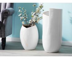 Vaso per fiori bianco MURSA