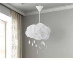 Lampada da soffitto bianca - Lampadario moderno bianco - AILENNE
